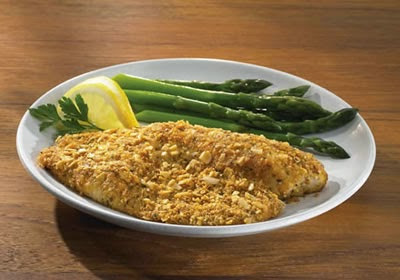 Parmesan Herb Encrusted Fish