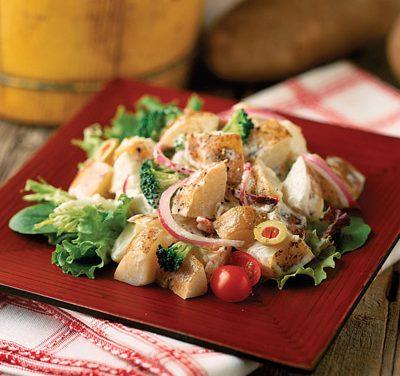 Potato, Broccoli and Fennel Salad