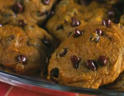 Pumpkin Polka Dot Cookies