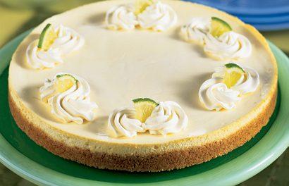 Refreshing Lime Cheesecake