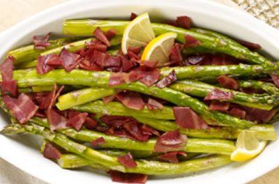 Roasted Asparagus with Bacon