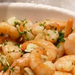 Shrimp Scampi recipe photo from the Diabetic Gourmet Magazine diabetic recipes archive.