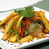 Skinny Noodles Salad with Shirataki Noodles