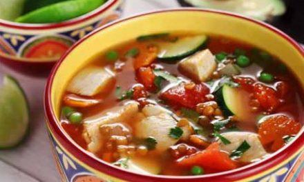 Sopa De Pollo a la Mexicana – Mexican Chicken Soup