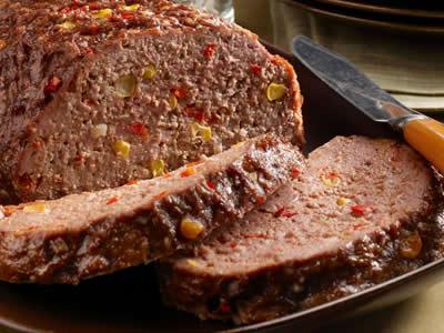 Southwest Meatloaf Recipe Photo - Diabetic Gourmet Magazine Recipes