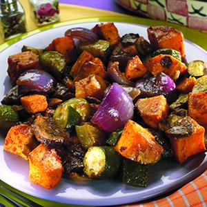Southwestern Roasted Vegetables