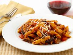 Spaghetti with Wild Mushroom Sauce