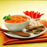Sweet Red Pepper Hummus