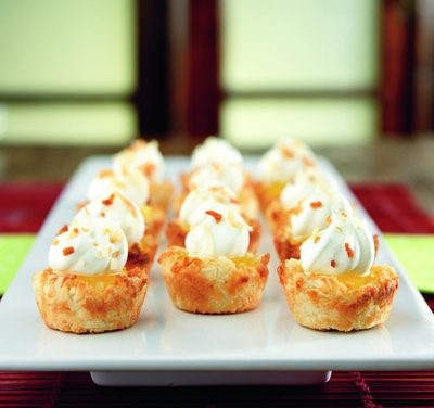 Tangy Coconut Tartlets