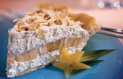 Tropical Banana-Pineapple Pie