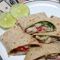 Turkey Fajitas Recipe Photo - Diabetic Gourmet Magazine Recipes