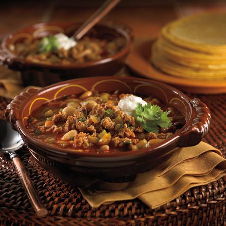White Turkey Chili Recipe Photo - Diabetic Gourmet Magazine Recipes