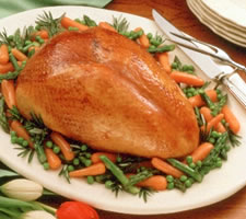 Turkey Breast with Honey-Mustard Glaze Recipe Photo - Diabetic Gourmet Magazine Recipes