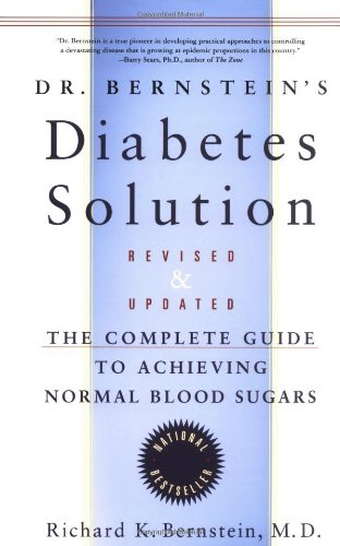 Dr. Bernstein's Diabetes Solution Book Cover Image