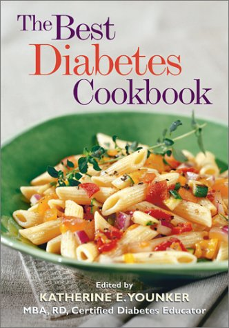 The Best Diabetes Cookbook Book Cover Image