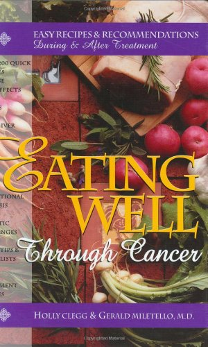 Eating Well Through Cancer Book Cover Image