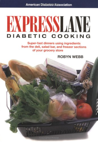 Express Lane Diabetic Cooking Book Cover Image