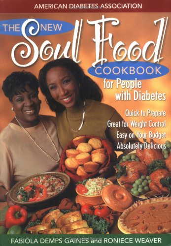 The New Soul Food Cookbook for People with Diabetes Book Cover Image