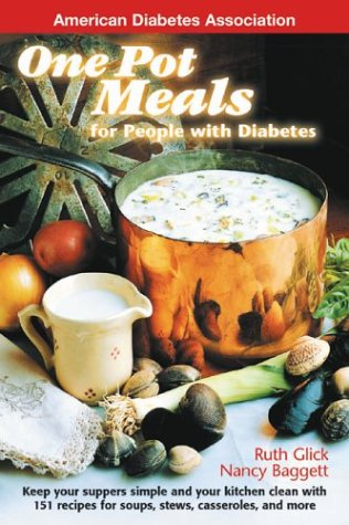 One Pot Meals for People with Diabetes Book Cover Image