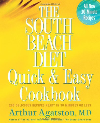 The South Beach Diet Quick & Easy Cookbook Book Cover Image