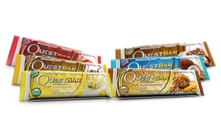 Quest No Sugar Added, Diabetic-Friendly Protein Bars